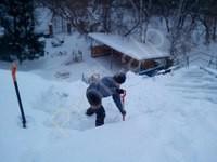 Приспособление для уборки снега с крыш своими руками